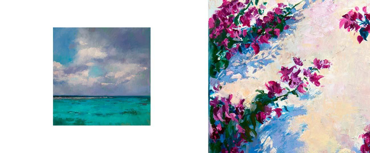 Charo Jansà presenta Mar i terra la galeria Retxa de Ciutadella