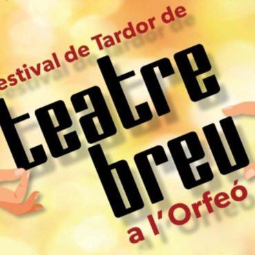 Festival de Tardor de Teatre Breu