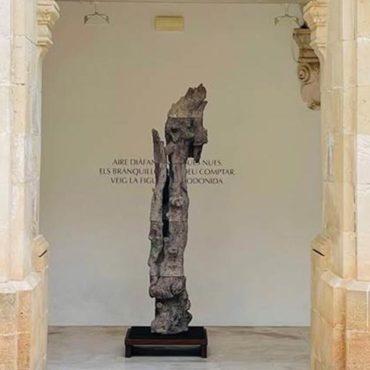 Passeig de les escultures al Museu de Menorca