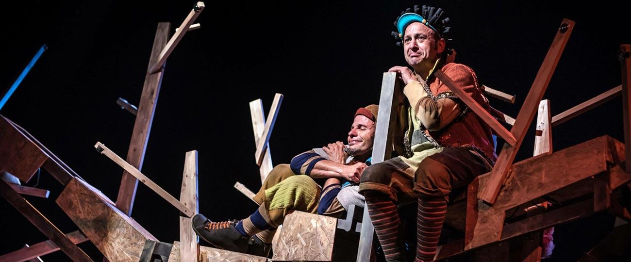 La faula de l'esquirol, de La Baldufa Teatre